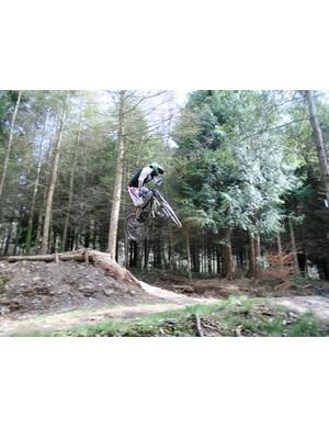 Local rider Jon Credicott hits Super Tavi