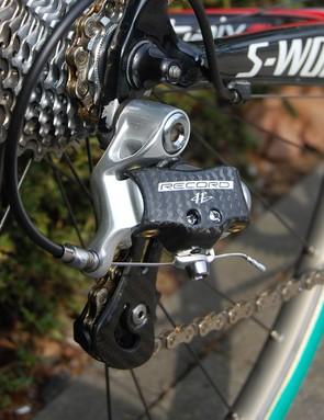 A 11-23T cassette still provides Boonen with a versatile gearing range.