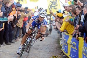 Tom Boonen was in amazing form again for Paris-Roubaix
