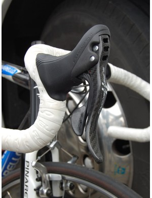 Though the frames may not be ultra-special the parts are Campagnolo's still-elusive Super Record 11