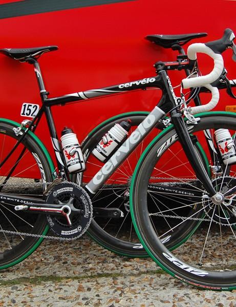 Cervélo TestTeam rider Heinrich Haussler built on his second place finish at Ronde van Vlaanderen with an impressive seventh at Paris-Roubaix