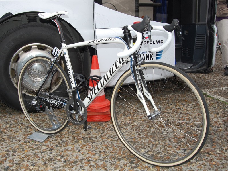 Quick Step weren't the only team riding Specialized S-Works Roubaix SL2 bikes