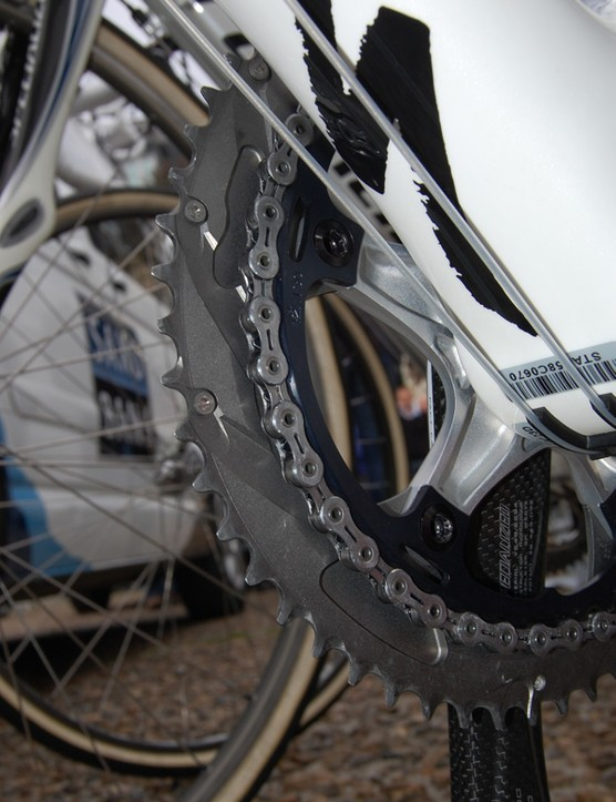 ... with bigger inner chainrings