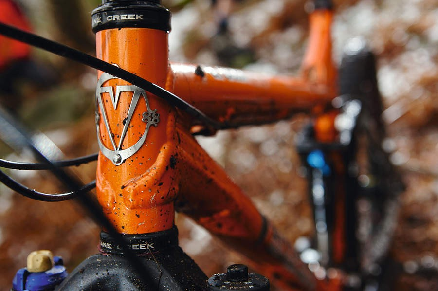 Strength where it's needed with a wrap around head tube gusset