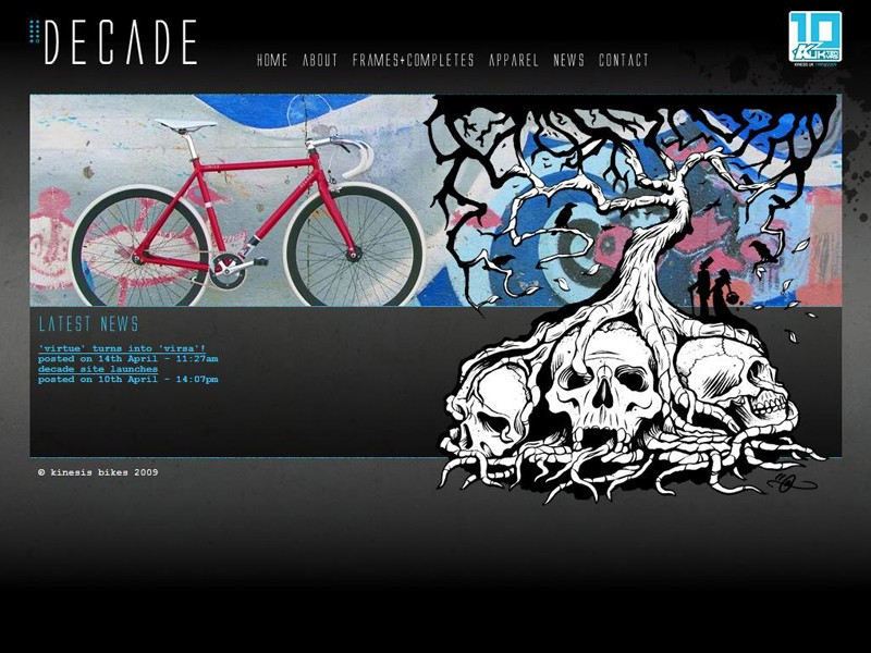 Kinesis have launched a website for people interested in buying one of their Decade frames