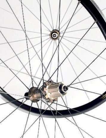 The stingers are lightweight but robust wheels