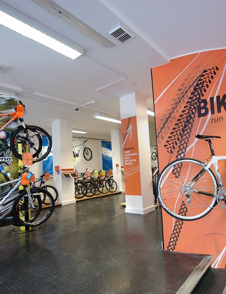 Halfords is phasing out its Bikehut stores