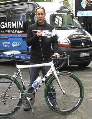 Martijn Maaskant's Garmin-Slipstream Chipotle Felt F1