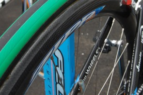 Maaskant was hoping that Zipp's new 303 rim shape was strong enough to handle the cobbles.