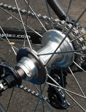 The new Zipp hubs are now easily adjustable for bearing preload.