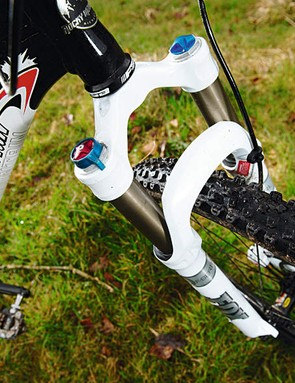 Fox's F100 fork is the benchmark front end for this test