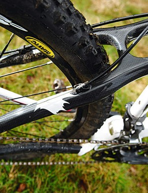 Carbon fibre stays are part of the Rocky Mountain pimp appeal