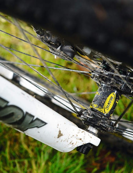 No prizes for guessing where Mavic takes the metal out of the rims