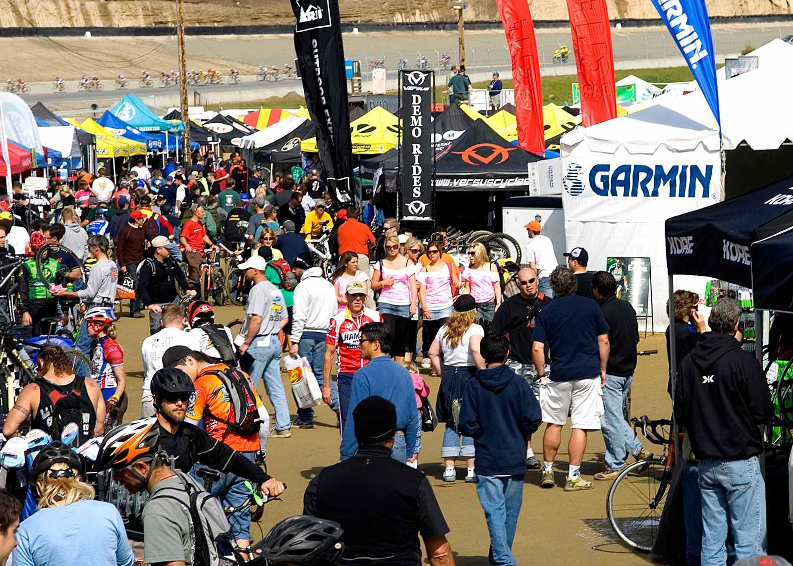 The Sea Otter Expo is always overflowing with gear and people.