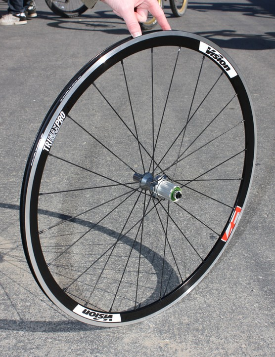 The TriMax Pro uses the same hubs as the Carbon but is intended more for training