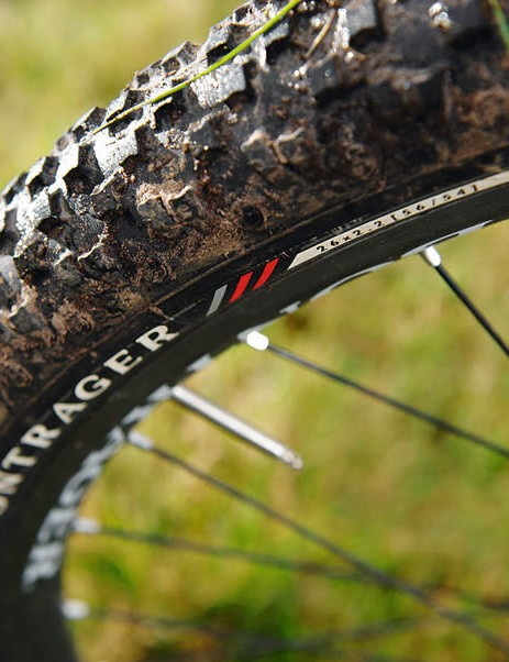 Fat but fast XDX tyres are trail centre perfect