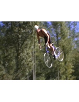 Road bike backflip