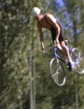 Road bike backflip