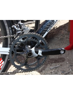 The standard carbon cranks remain largely unchanged save for the new graphics package.