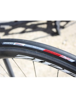 Zipp have also added a 23mm-wide version of their Tangente tubular tyre.