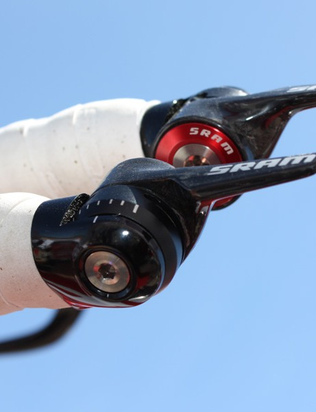 Now hitting production are the slick 1090-R2C bar-end shifters.