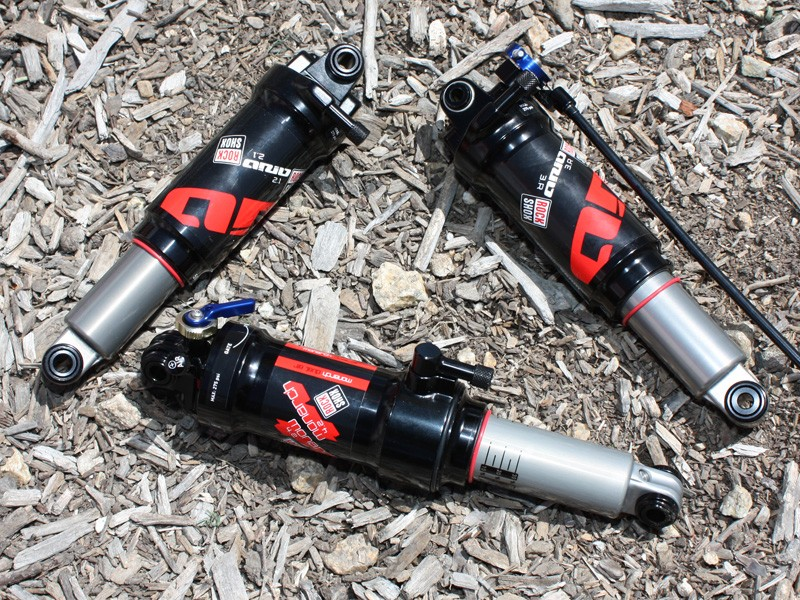 RockShox have now made the Ario rear shocks more like the Monarchs, thus promising far improved performance.