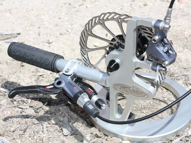 Avid's new top-end brake is the Elixir CR Mag, which replaces the Juicy Ultimate.