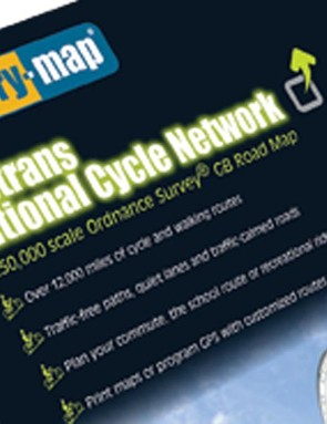 UK National Cycle Network now available on Memory-Map