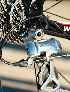 Shimano's top-end rear mech is the highlight of the gearset