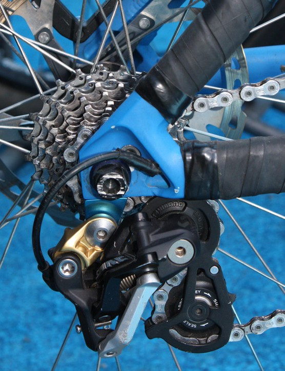A stouter rear derailleur hanger should hold up better than the current one