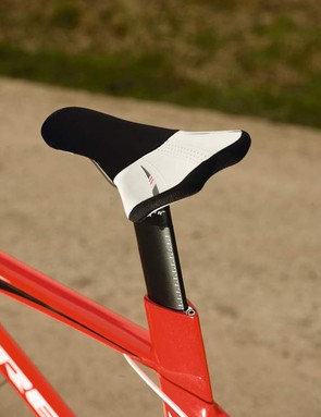 Trek's race lite TT saddle comes with  comfortable gel padding and was a definite hit with our test team
