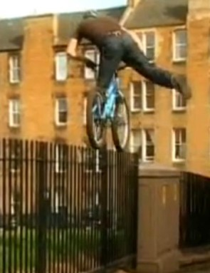 Danny MacAskill in action