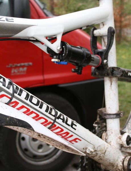 Dual Air Shock on Ian's Cannondale Rize