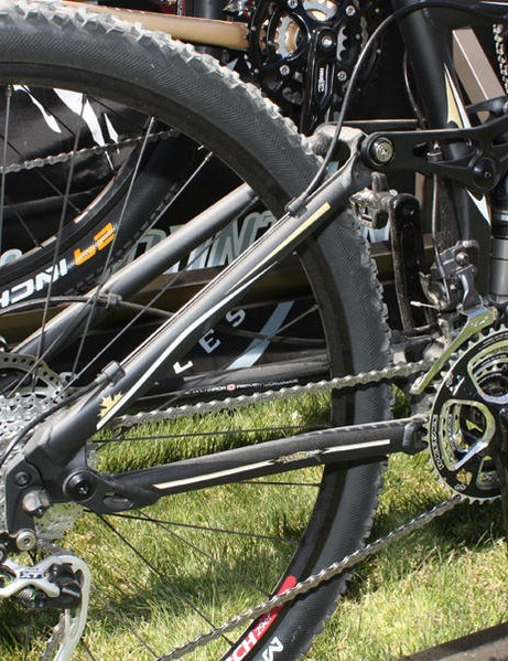 The 2010 Rocky Mountain Altitude 29er.