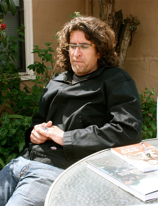 Joe Parkin in Santa Cruz, California on April 10, 2009
