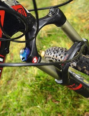 120mm forks make balls-out, not back off, the default ride setting