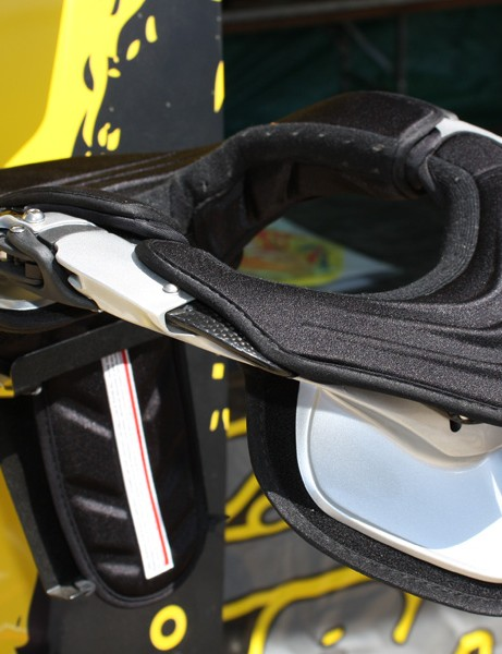 The Leatt brace offers an additional lever of protection against head and neck injuries when mated with a full-faced helmet.