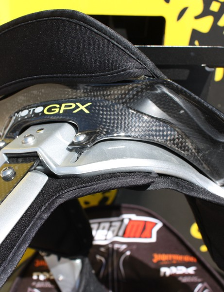 The top-end version uses carbon fibre construction and is adjustable for a more customized fit.