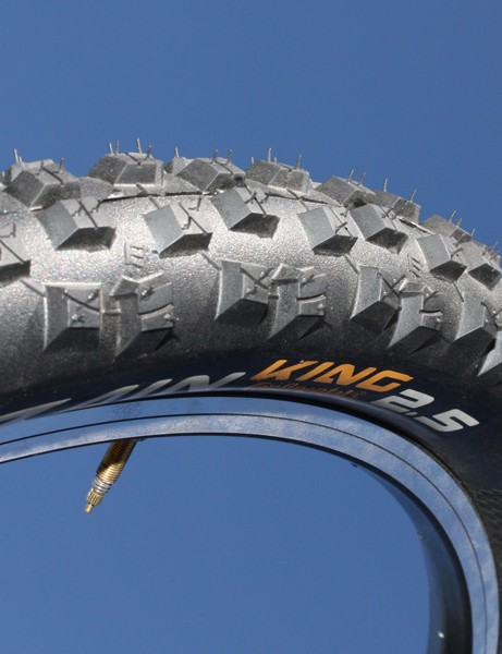 The Rain King is Continental's new downhill-specific tyre for wet conditions