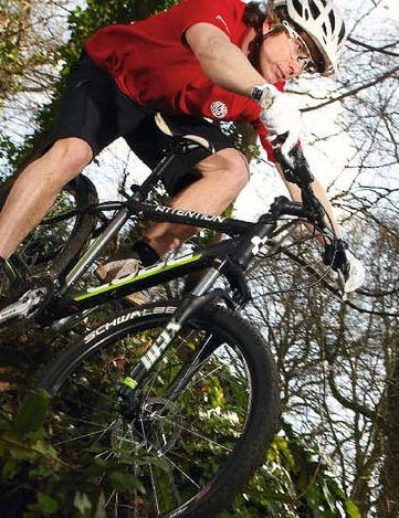 Fast singletrack riding is confident and  climbs are a relative breeze