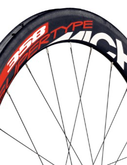 The Miche Supertype 358 carbon tubular wheelset.