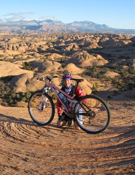 Tony Ellsworth in Moab, Utah