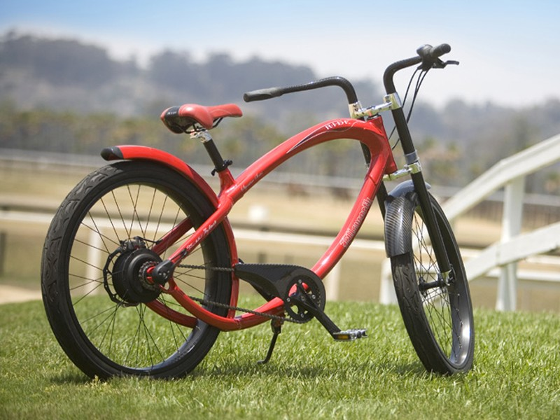 Ellsworth's The Ride does away with conventional gears and instead uses a set of spheres rotating around a central point to transfer torque from pedals to the road