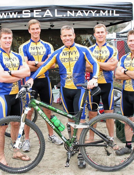 Ellsworth bikes are used by the Navy SEAL Flyin' Frogs team