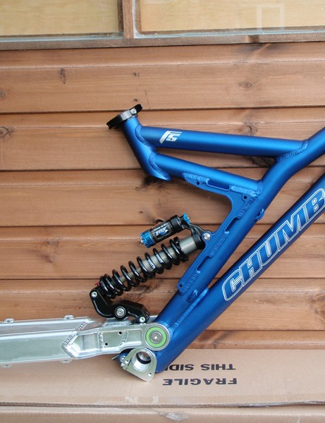 Chumba's F5 downhill bike