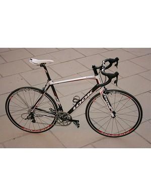The 2009 Look 566 Origin carbon sportive.