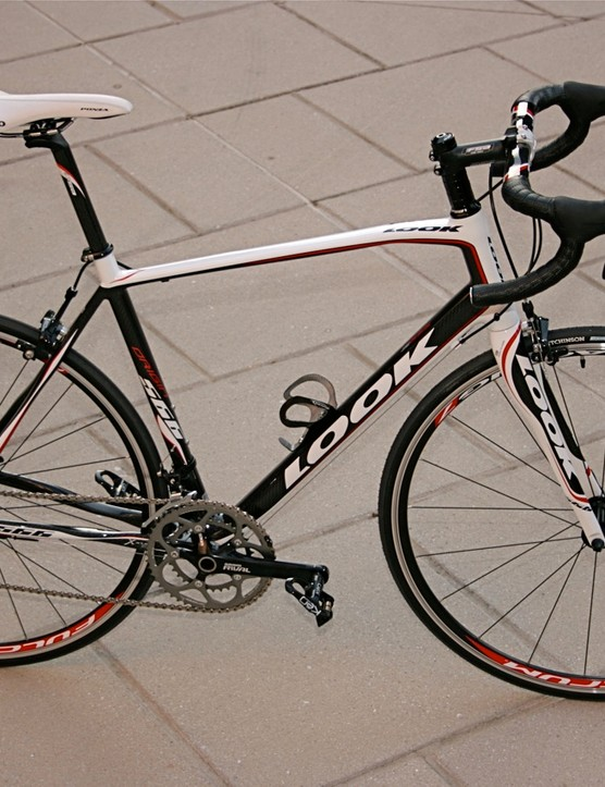 The 2009 Look 566 Origin carbon sportive.