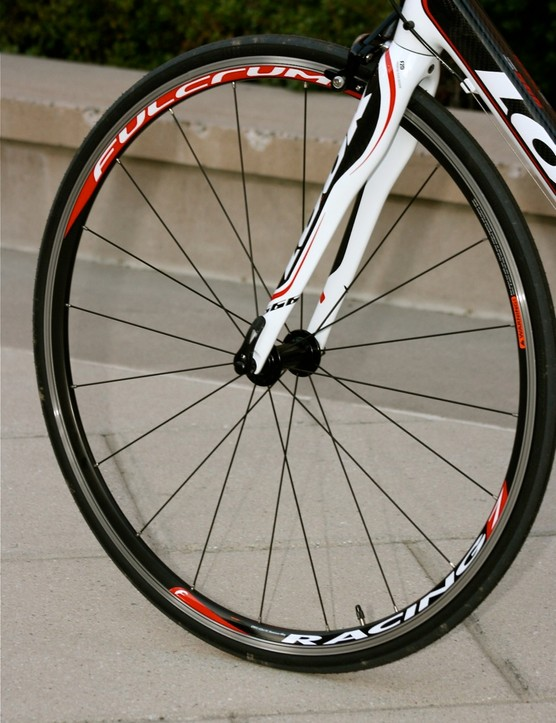 Fulcrum wheels are a nice addition, but standard 28- or 32-spoked wheels might be more reliable over the long haul.