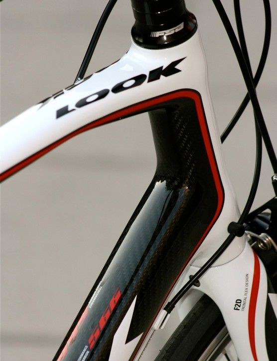 A longer headtube means a higher handlebar position, which equates to less strain on the neck, shoulders and wrists.
