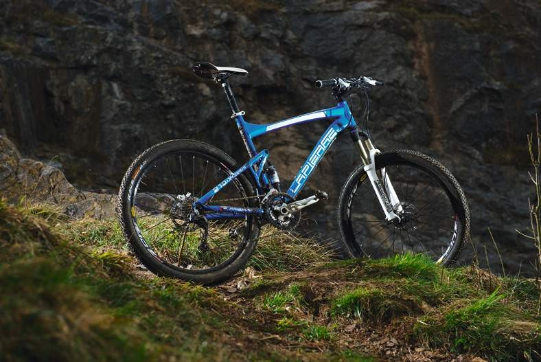 We love Lapierre's long travel bikes, but this is a smooth-trail-only option
